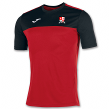 Ashgrove Rovers Seniors Joma Winner S/S Shirt Red/Black Youth 2020